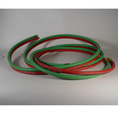 Oxygen/Propane Hose Set,12 ft,1/4""