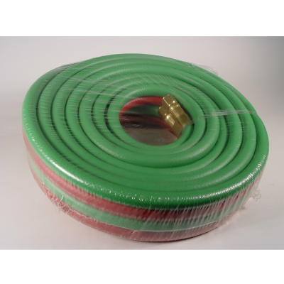 Oxygen/Propane Hose Set, 25 ft, 3/8""