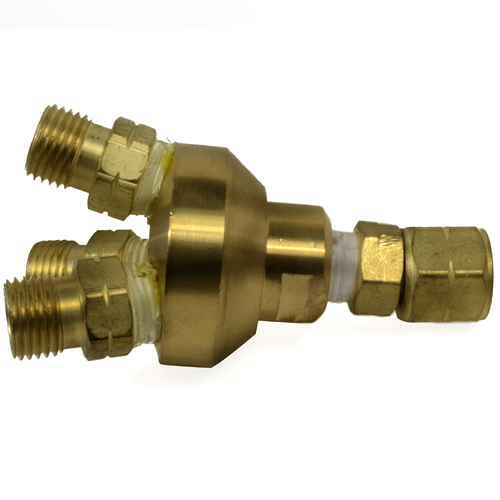 3 Way Propane Splitter Valve