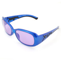 ACE-202 200W Blue/Black Frame Protective Eye Glasses
