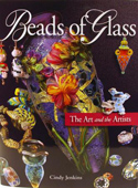 Beads of Glass Book- Soft Bound by Cindy Jenkins