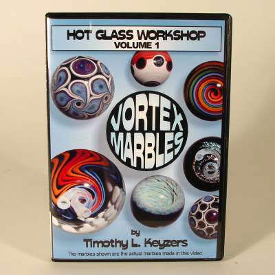 Hot Glass Workshop Vol.1 Vortex Marbles