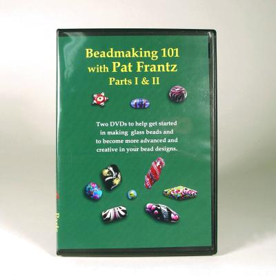 Beadmaking 101 P1 & 2 DVD by Pat Frantz