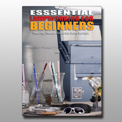 Essential Lampworking for Beginners DVD by Freeman Corbin
