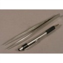 "7"" Pointed Tweezer Stainless Steel"