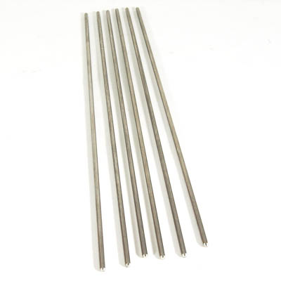 "5/32"" Mandrel 9"" long Stainless Steel Pkg of 6"