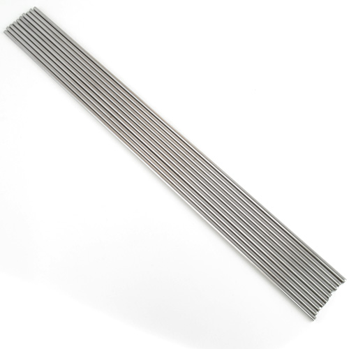 "1/8"" Mandrel 12"" Long Stainless Steel Pkg of 10"