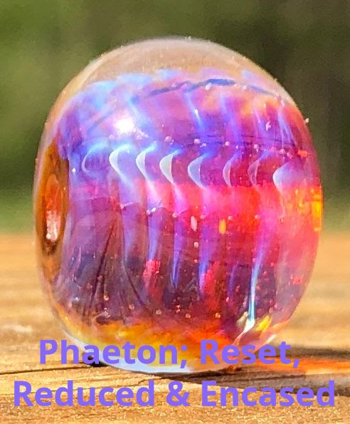 Phaeton Double Helix Glass Rod