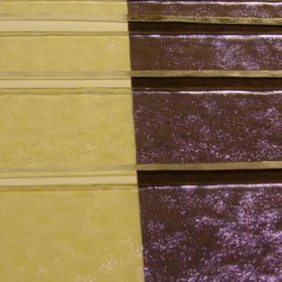"Clear Violet Dichroic 1/4"" Strips"
