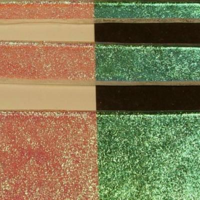 Clear Green Emerald Dichroic 1/4 Sheet
