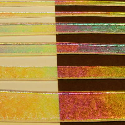 "Clear Rainbow 1 Dichroic 1/4"" Strips"