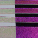 Magenta Blue Dichroic on Clear 1/4 Sheet Effetre Glass