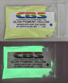 Yellow 1oz Glow Pigment
