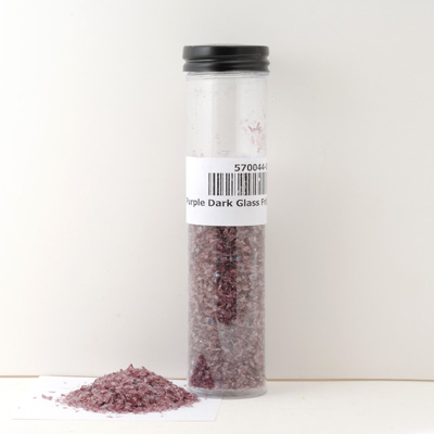 Purple Dark Glass Frit, 2 oz pkg