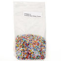 Millefiori Confetti Transparent Chips 2oz Effetre Glass