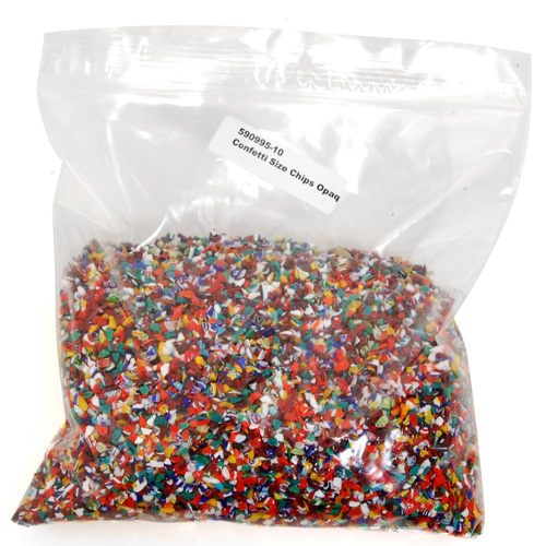 Mille Confetti Size Opaque Chips, 1 lb