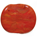 Orange Rock 5-6mm Cool Color Effetre Glass Rod