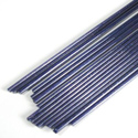 Blue Aventurine 2-3mm Effetre Glass Rod