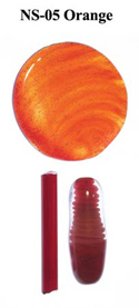 Orange Northstar Glass Rod