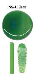 Jade Northstar Glass Rod