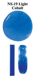 Light Cobalt Blue Northstar Glass Rod
