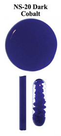 Dark Cobalt Blue Northstar Glass Rod