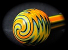 Carnaval Borosilicate Tube Golden Gate Glassworks