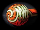 Fall Harvest Borosilicate Tube Golden Gate Glassworks