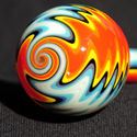 Aztec New Borosilicate Tube Golden Gate Glassworks