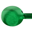 Emerald Green Light Transparent Vetrofond 4-6mm Glass Rod