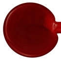 Red Dark Opaque Vetrofond 4-7mm Glass Rod