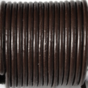 Brown Leather Cord 1.0mm Diameter