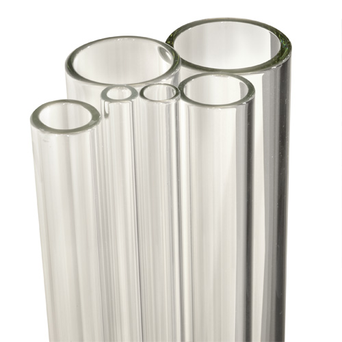 Case 26mm x 2.8mm Heavy Wall Tube Clear Simax Borosilicate Glass